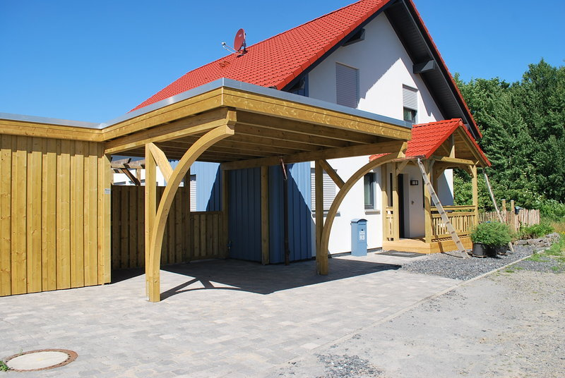carports ger teh user individuell mit holz gestalten. Black Bedroom Furniture Sets. Home Design Ideas